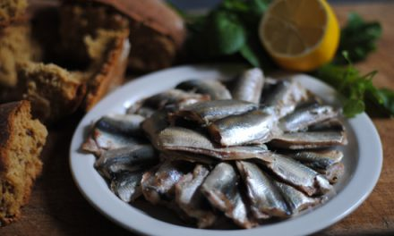 Bradley  Smoked  Sprats  &  Seeded  Soda  Bread